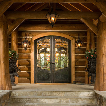 Rocky Mountain Homes-Private Rustic Ranch