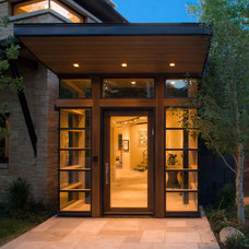 Modern Entry by Poss Architecture + Planning + Interior Design