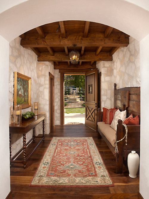 Foyer Architecture Quiz : Mediterranean entryway design ideas remodels photos