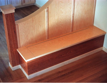 Room Divider and Bench