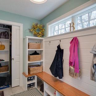 Roseville, MN mudroom addition/kitchen and living remodel