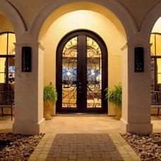 Mediterranean Entry by Zbranek & Holt Custom Homes