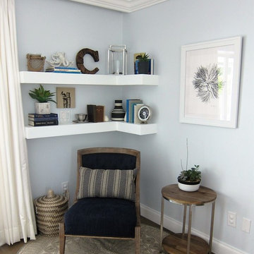Royal Harbor Living Area Makeover