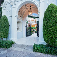 Mediterranean Entry by ibi designs