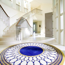 Traditional Entry by Alliyah Rugs, Inc.
