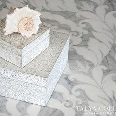 Traditional Entry by Sara Baldwin Design