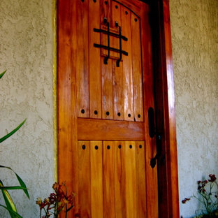 Rustic Alder Entry Door