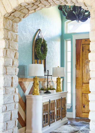 Rustic Entry by Courtney Warren  Home
