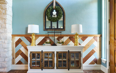 Room of the Day: A Farmhouse-Fresh Entry