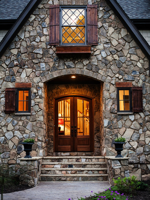 Tudor Front Door Home Design Ideas Pictures Remodel And
