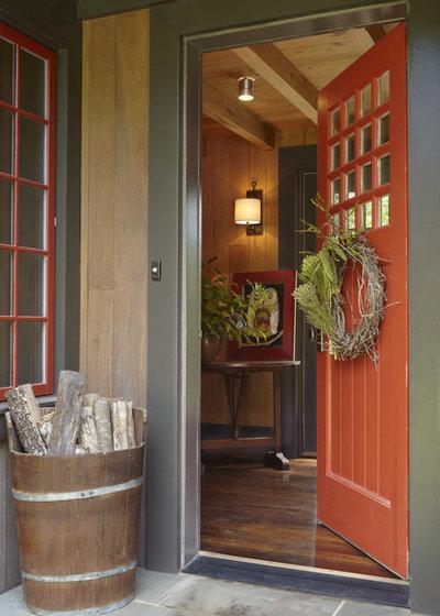 Rustic Entrance Rustic Entry