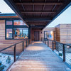 Covered Walkways Add Beauty and Weather Protection Too