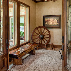 Rustic Entry by Wamhoff Design | Build