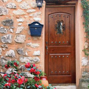 Rustic Entryway Door