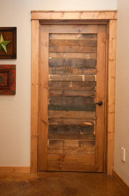Rustic Entry by Wright-Built