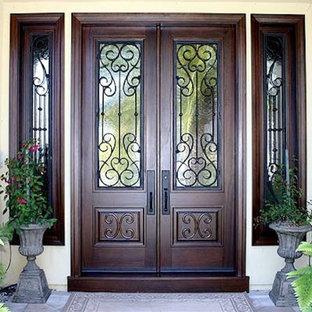 Rustic Wrought Iron Door in Los Angeles, CA
