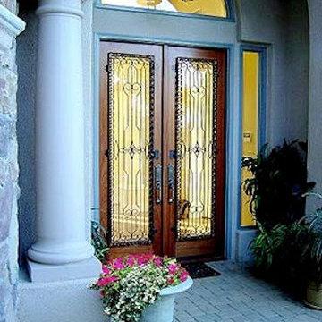 Rustic Wrought Iron Doors in Los Angeles, CA