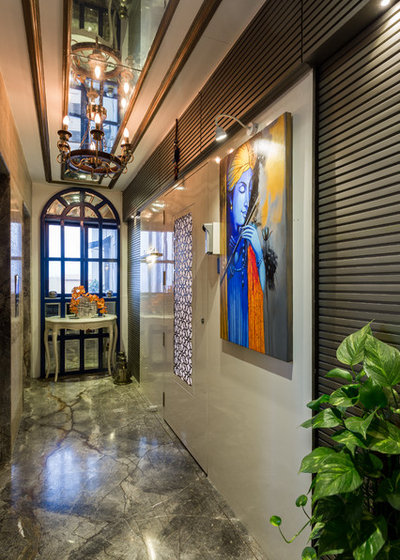 Rustic Entry by Kunal & Associates