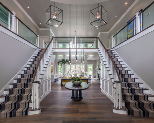 Double Stairs Houzz