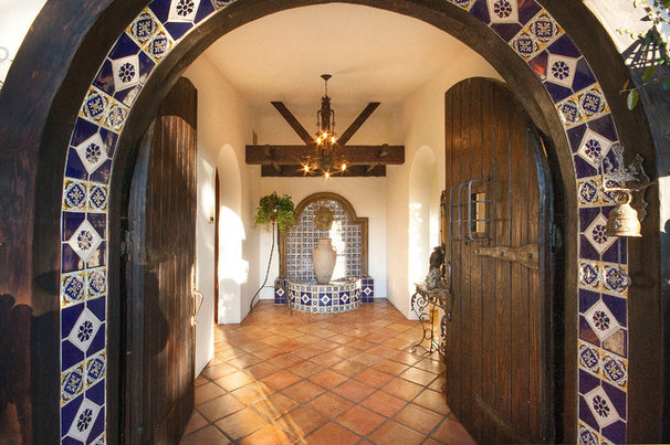 Mediterranean Entry by Peter D'Aprix Photography