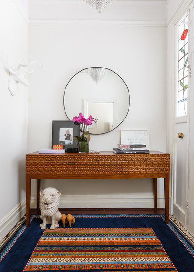 Eclectic Entrance by Crib Creative