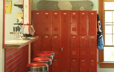 Schoolhouse Style Rocks in the Kitchen
