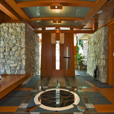 Contemporary Entry by Visions West Photography