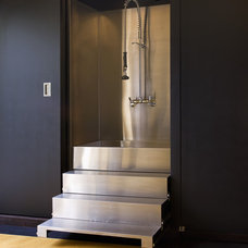 Contemporary Entry by Dijeau Poage Construction