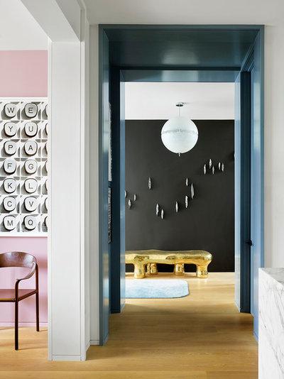 Contemporary Entry by Jamie Bush & Co.