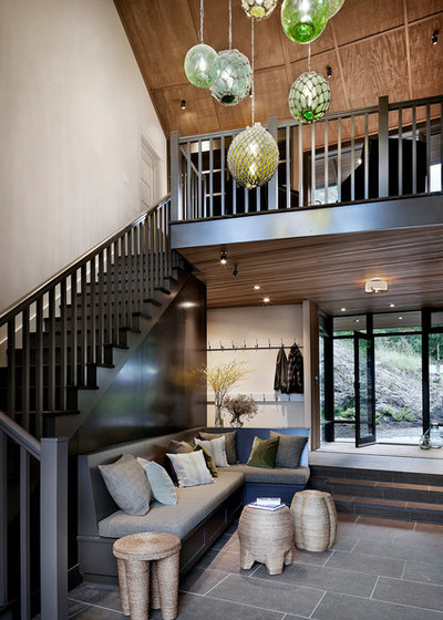Rustic Entry by NB Design Group, Inc