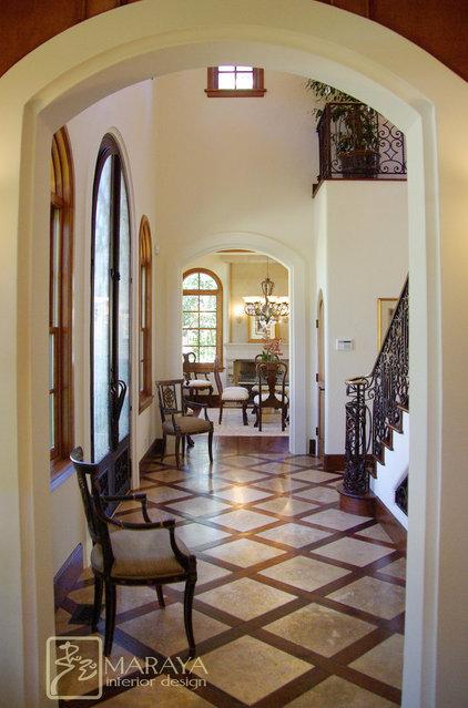 Mediterranean Entry by Maraya Interior Design