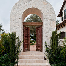 Mediterranean Entry by Jenkins Custom Homes