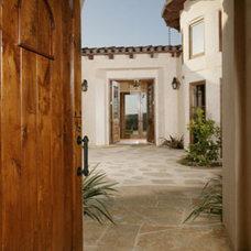 Mediterranean Entry by Terrell Design & Development