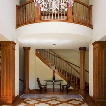 Saratoga English Country Custom Home