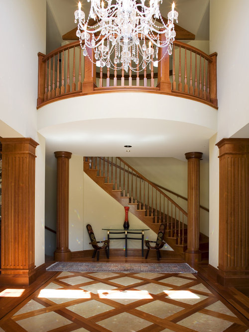 Tile Floors With Wood Inlay Houzz