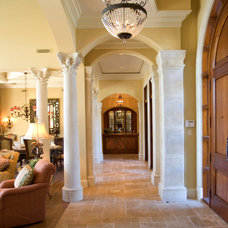 Mediterranean Entry by Sater Design Collection, Inc.
