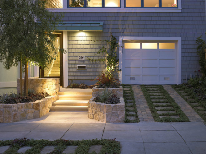 traditional exterior by Gast Architects