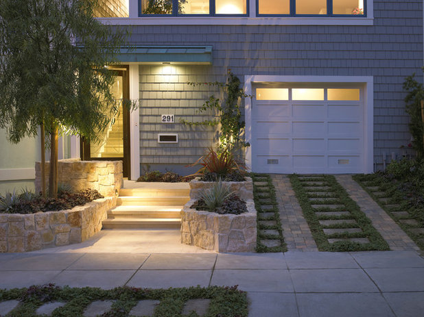 10 Ideas for Front Gardens That Sneak in a Parking Space