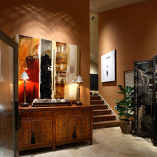 Asian Entry by Culbertson Durst Interiors