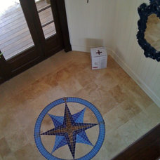 Traditional Entry by Lowcountry Tile & Hardwood Contractors