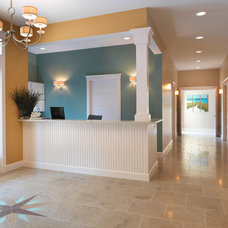 Traditional Entry by Mandeville Canyon Design