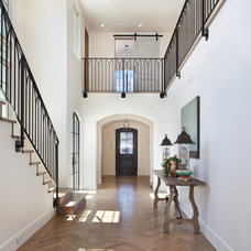 Beach Style Entry by Patterson Custom Homes
