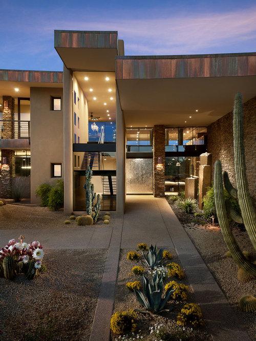 Best modern desert landscape design ideas remodel for Desert home designs