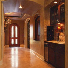 Mediterranean Entry by Wells Design Contracting Inc.