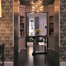 Contemporary Entry by Marks & Frantz Interior Design