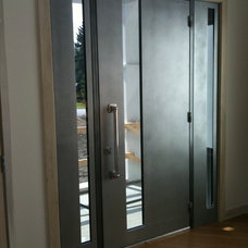 Modern Front Doors by Arttig Artistic Creations