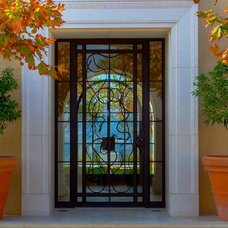 Mediterranean Entry by Sinclair Associates Architects