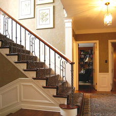 Traditional Entry by John Florian Koncar Interiors