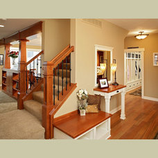 Craftsman Entry by Coldwell Banker Burnet