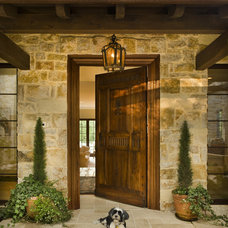 Mediterranean Entry by Simpson Design Group Architects